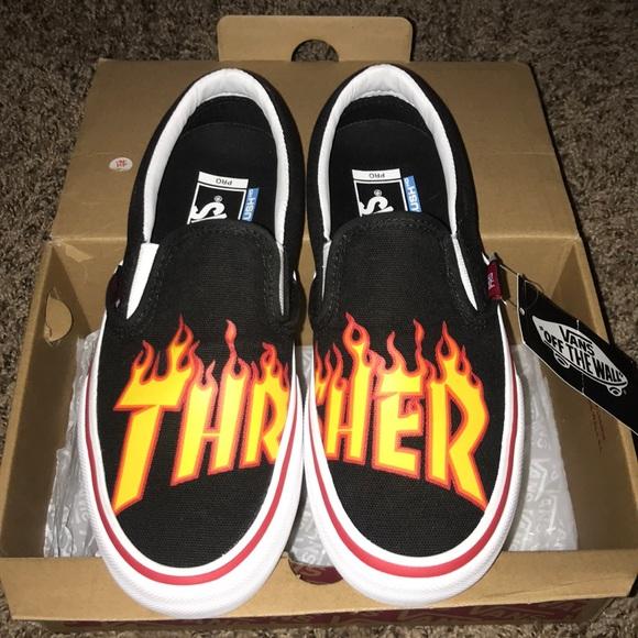 """27e88b257c1c Vans Shoes - """"thrasher"""" vans size 4.5M 6.5W"""